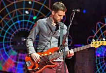 Bassist Coldplay